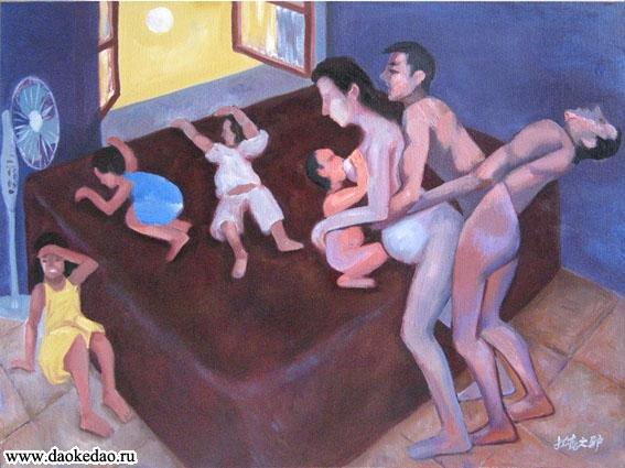 Секс в кровати в живописи фото 230-8