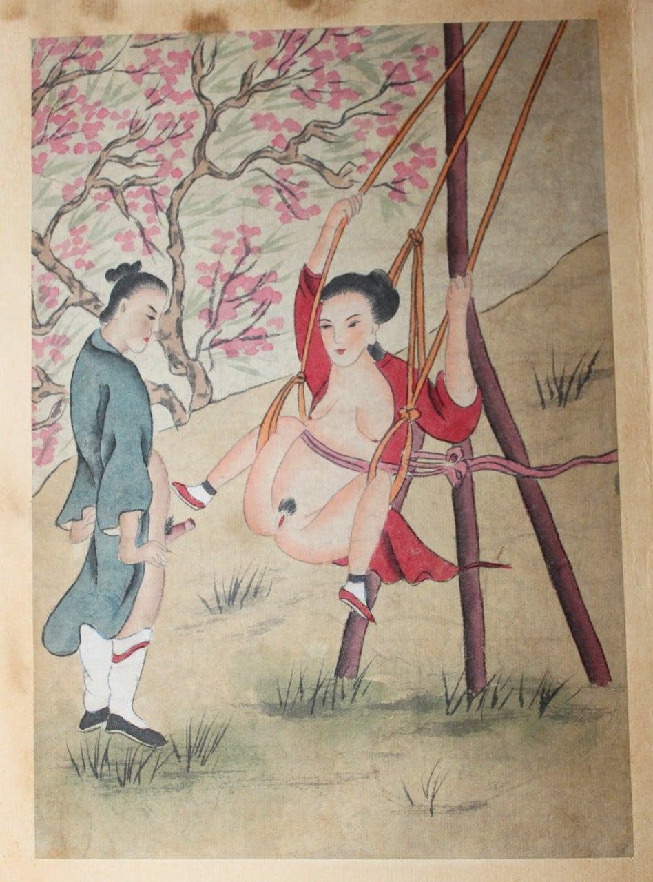 Эротическая живопись китая 19 фотография