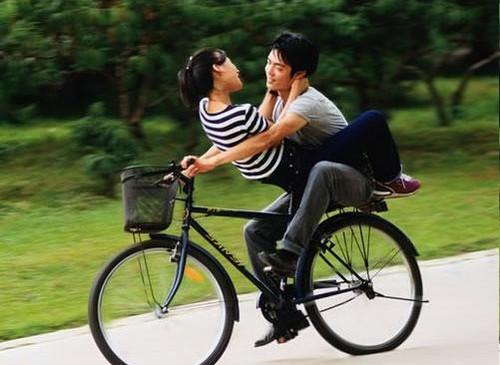 Секс на велосипед