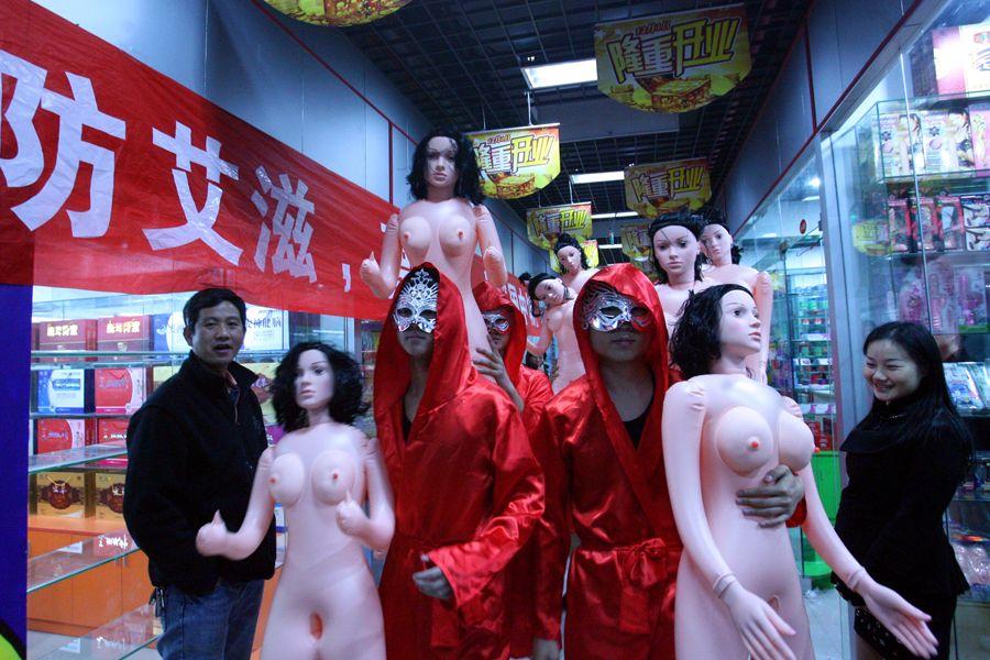 секс с резиновыми куклами фото