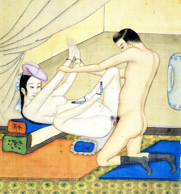 Секс китайцев в помещении 11 фотография