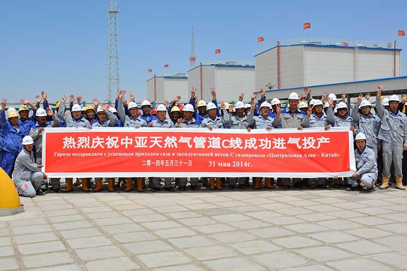 Потребление газа в Китае увеличилось на 11.7%