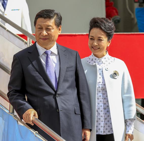 Chinese President Xi Jinping visits Hobart, Tasmania